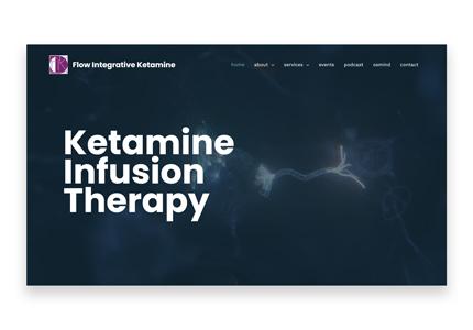 psychiatric web design
