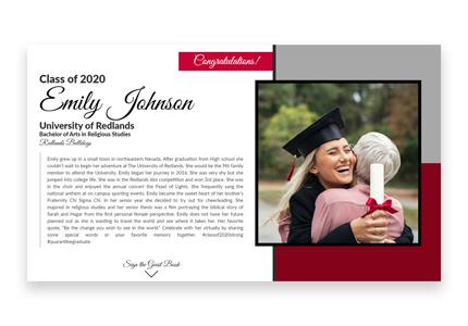 Graduate student web design