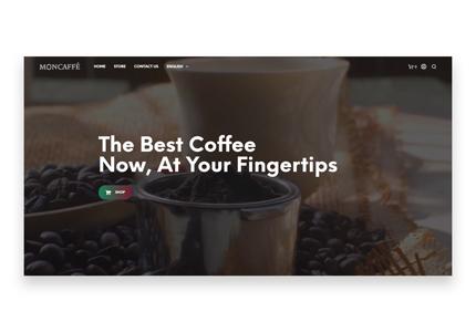 Coffee roasting company web design