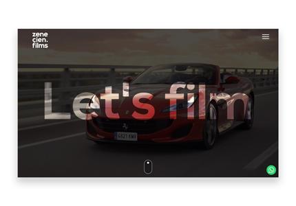 video producer web design